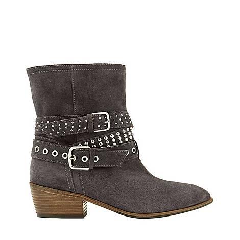 Elsa Suede Biker Boots, ${color}