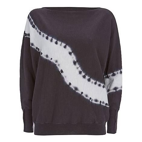Tie-Dye Batwing Sweater, ${color}