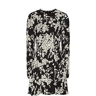 Gabriella Floral Printed Mini Dress