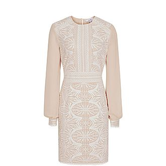 Aria Lace-Detail Dress