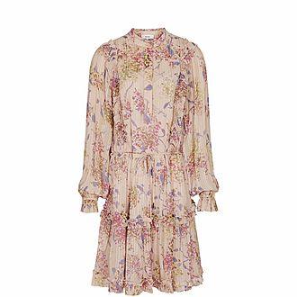 Cari Floral Smock Dress
