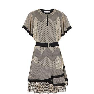 Hannah Printed Mini Dress