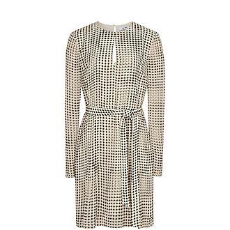 Elissa Spot Print Mini Dress