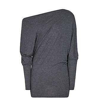 Sienna Draped Jersey Top