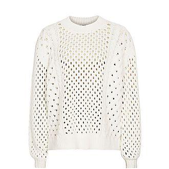 Lauren Open-Knit Sweater