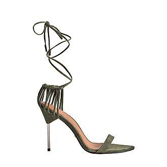 Zhane Strappy Wrap Sandals