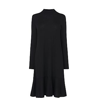 Flossy Wool Dress