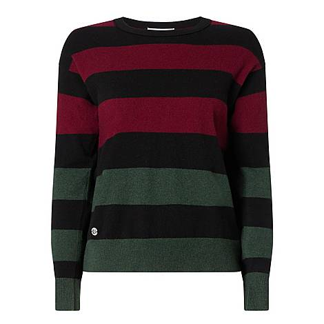 Big Stripe Sweater, ${color}