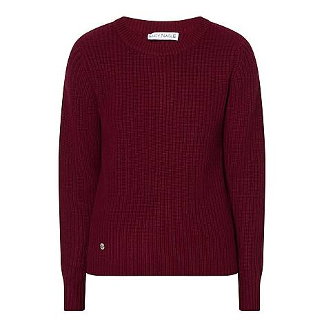 Ribbed Cashmere Sweater, ${color}