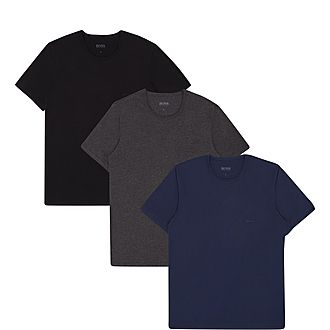 3-Pack Crew Neck T-Shirts