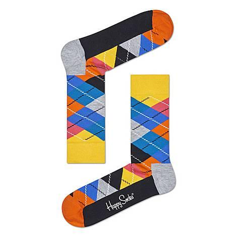 Argyle Diamond Socks, ${color}