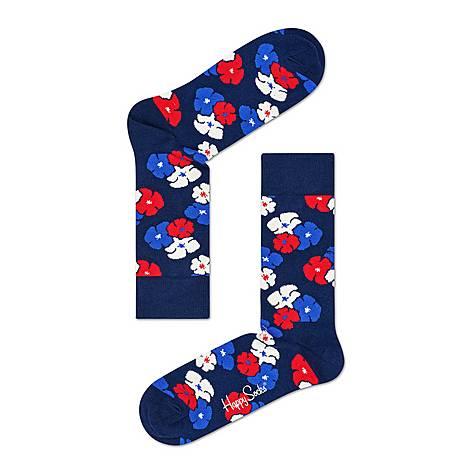 Kimono Floral Socks, ${color}