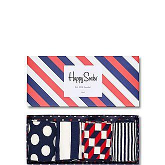 Polka Dot Stripes Gift Box