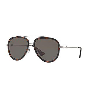 Pilot Sunglasses GG0062S 57