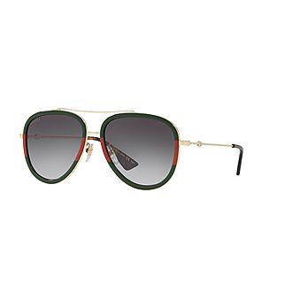 Aviator Sunglasses GG0062S 57
