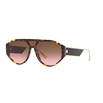 Diorclan1 Irregular Sunglasses