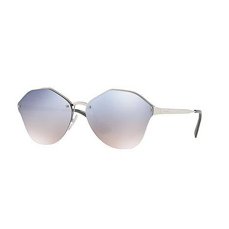 Round Sunglasses PR 64TS 66, ${color}