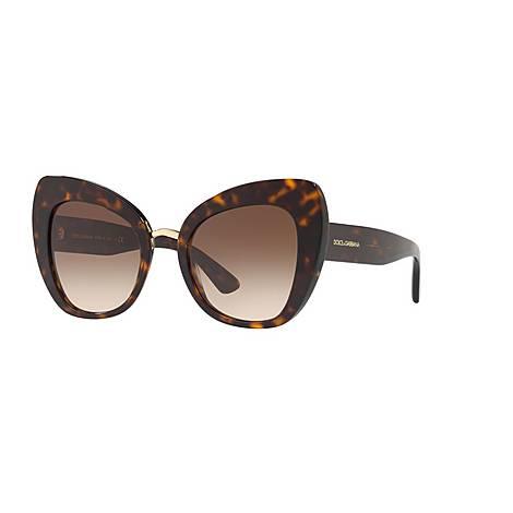 Oversized Sunglasses DG4319 51, ${color}