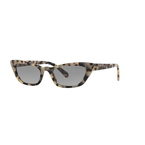 Cat Eye Sunglasses 0MU 10US, ${color}