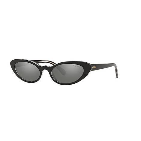 Cat Eye Sunglasses 0MU 09US, ${color}
