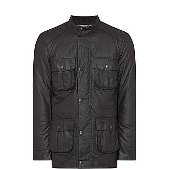 Corbridge Four-Pocket Wax Jacket
