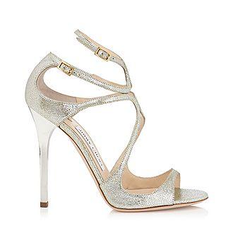 Lance Glitter Leather Sandals