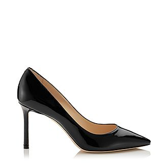 Romy 85 Patent Leather Pumps