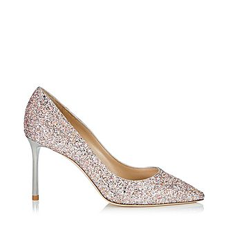 Romy 85 Speckled Glitter Pumps