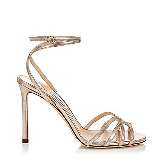Mimi 100 Metallic Leather Sandals