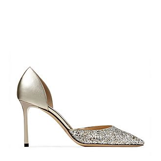 Esther 85 Coarse Glitter Pumps