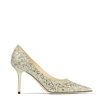 Love 85 Infinity Glitter Pumps