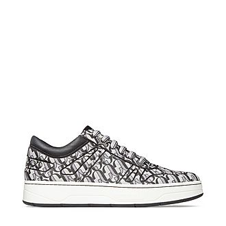 Hawaii Monogram Glitter Trainers