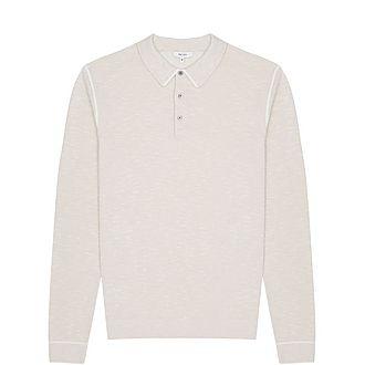 Gabriel Tipped Melange Polo Shirt