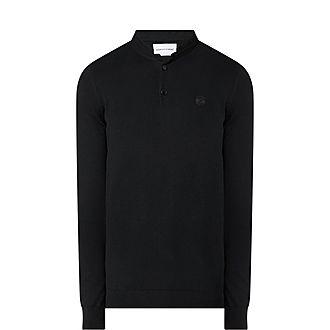 Officer Collar Wool Sweater