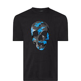 Camouflage Skull T-Shirt