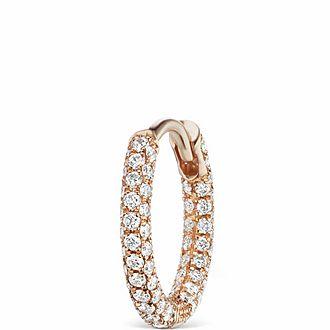 8mm Diamond Five Row Pavé Ring
