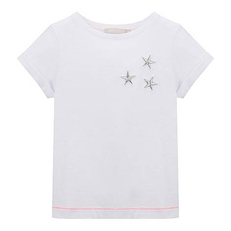 Embroidered Star T-Shirt, ${color}