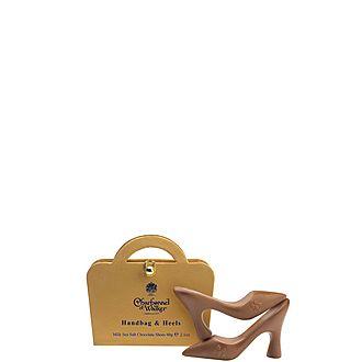 Milk Chocolate Sea Salt Handbags and Heels