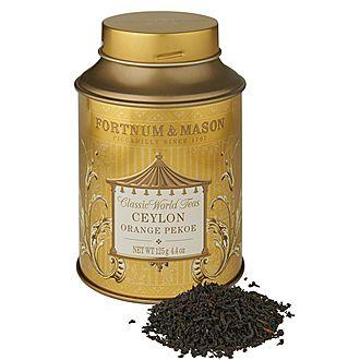 Ceylon Orange Pekoe Round Tea Tin