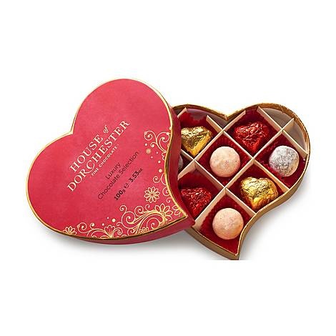 Heart Luxury Chocolate Selection Box, ${color}