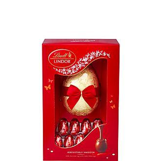 Luxury Lindor Easter Egg