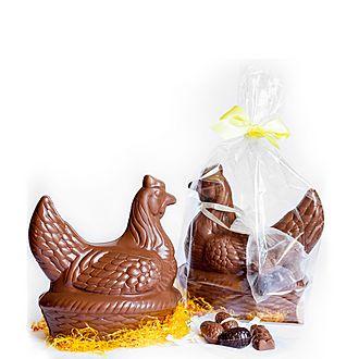 Hen and Mini Eggs