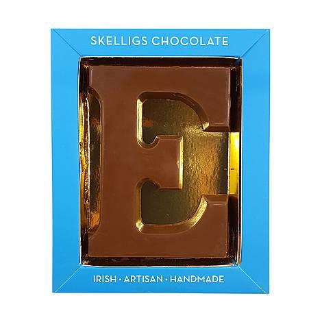 Milk Chocolate Letter E, ${color}