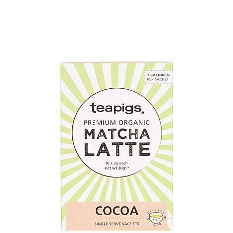 Cocoa Matcha Latte Sachets 20g, ${color}