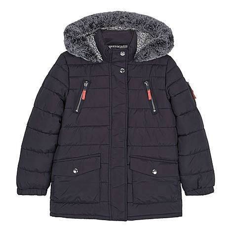 Hooded Long Padded Coat, ${color}