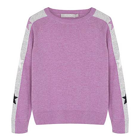 Star Sleeve Sweater, ${color}