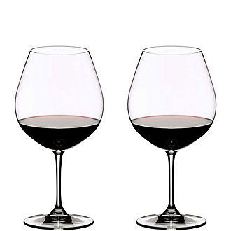 Vinum Pinot Noir Glasses Set Of 2