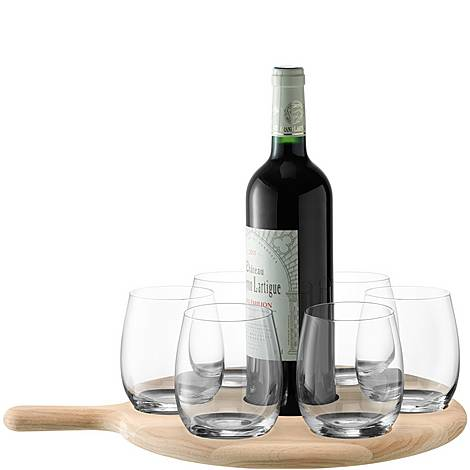Water and Wine Serving Paddle, ${color}