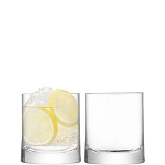 Set of 2 Gin Tumblers 310ml