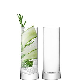 Set of Two Gin Highball Glasses 380ml